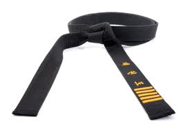 Dan black belt